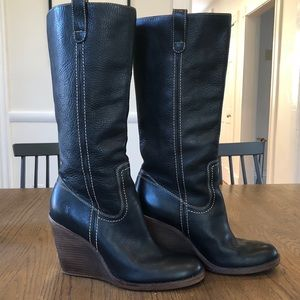 Frye Caroline Campus: Pull-On Boot-Worn Once!
